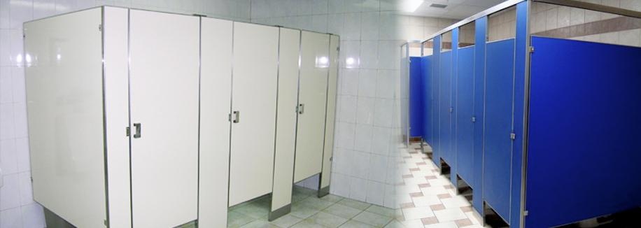 Mamparas para sanitarios p blicos durmodul mamparas para for Herrajes para mamparas sanitarias